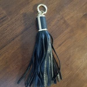 Michael Kors leather Tassle keychain